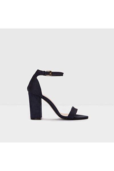 Kadın Lacivert Topuklu Sandalet