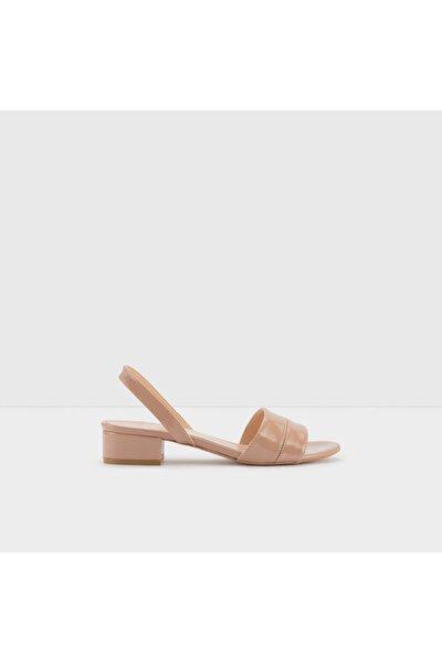 CANDY-TR - Orta Topuklu Bej Kadın Sandalet