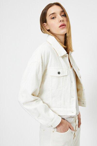 Kadın Beyaz Ceket 0KAL58159OW