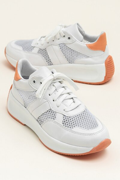 WADE Beyaz/Kavunıcı Kadın Ayakkabı