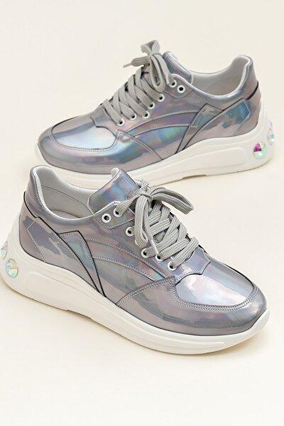 Elın Mor-Hologram Kadın Sneaker 20Ysdp-4-5