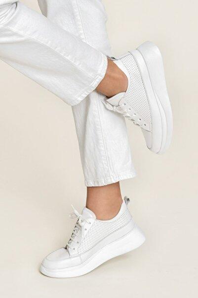 FANCY Beyaz/Beyaz Kadın  Sneaker 20YSE192404