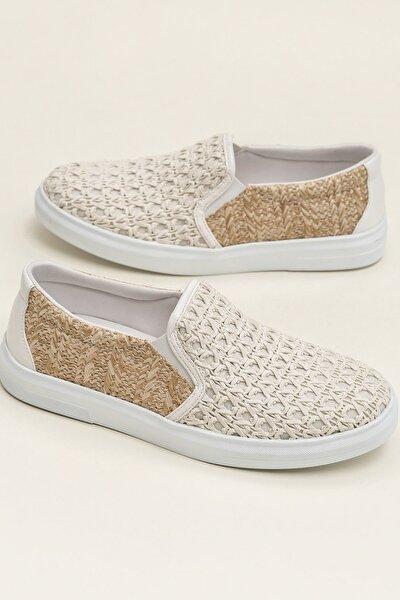 NEHA Naturel Kombin Sneaker 20YMA901