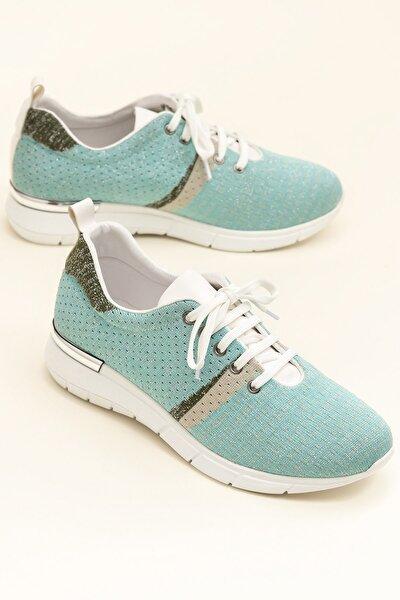 SARIKA Mınt/Beyaz Sneaker 20YYN05336