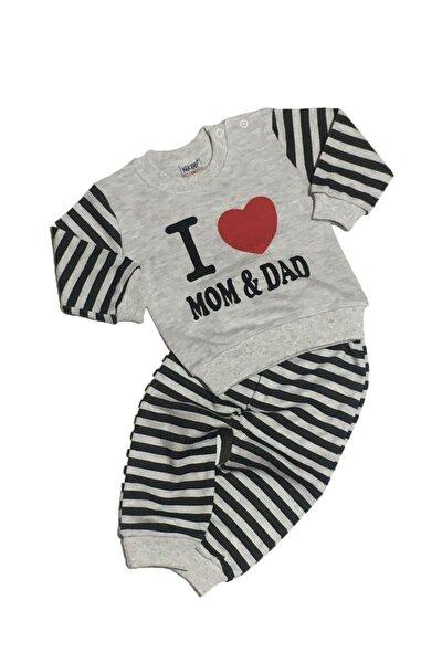 I Love Mom&dad Ikili Bebek Takım