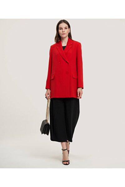 Kadın Kırmızı Kruvaze Ceket V52020150