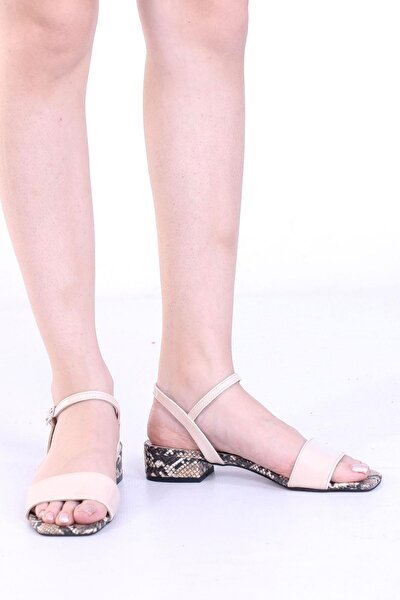 Kadın Tek Bant Topuklu Sandalet