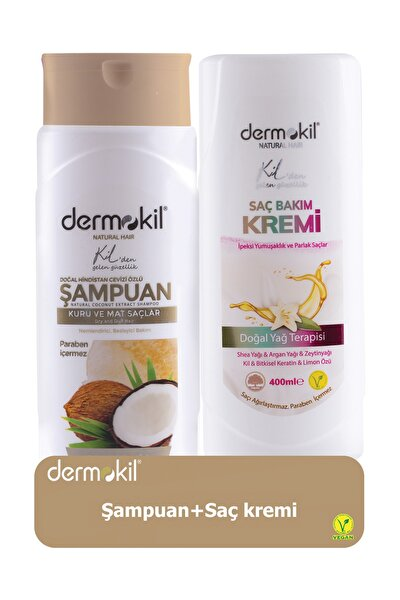 Hindistan Cevizli Şampuan 400 ml ve Saç Kremi 400 ml 8697916004127