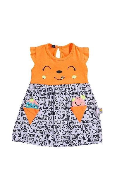 % 100 Pamuklu Yumuşak Elbise Kız Bebek ELBİSE 57414943