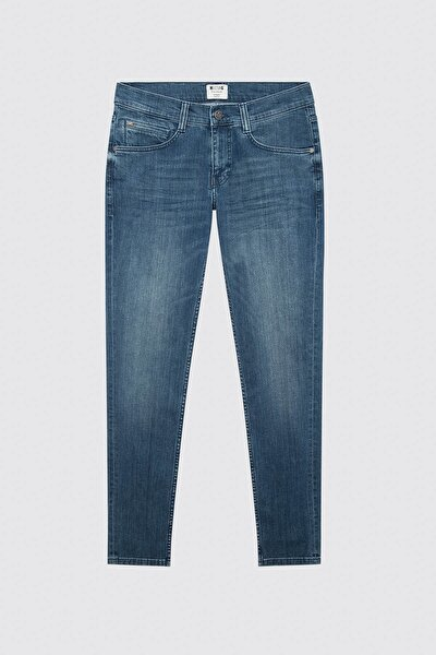 Erkek Oregon Tapered Denim Pantolon 01-M03116-0104
