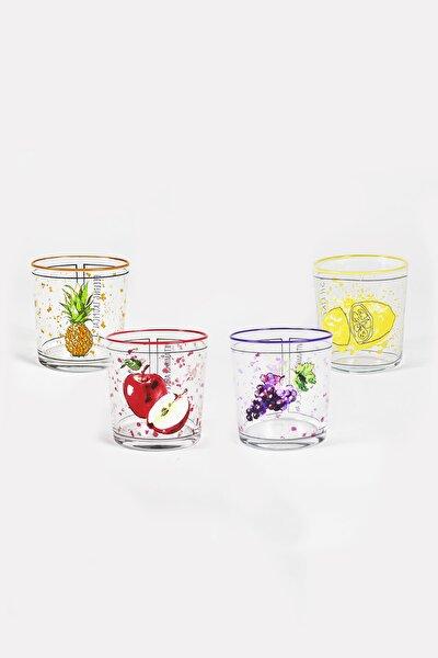 Fresh 4'lü Su Bardağı Seti 380 Cc