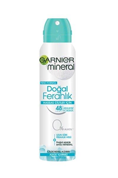 Hassas Ciltler Için Doğal Ferahlık Kadın Deodorant 150ml