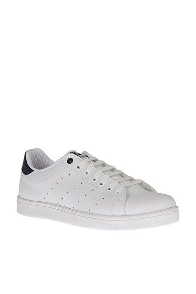 Grazzı Beyaz Erkek Kalın Taban Sneaker Spor Ayakkabı
