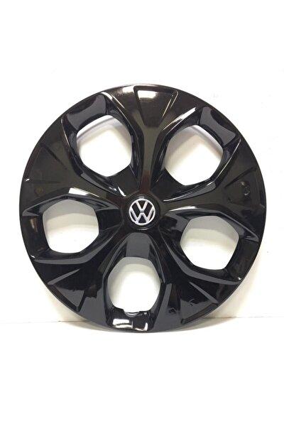 Volkswagen 13 Inç Pianoblack Jant Kapağı +  4 Adet Amblem