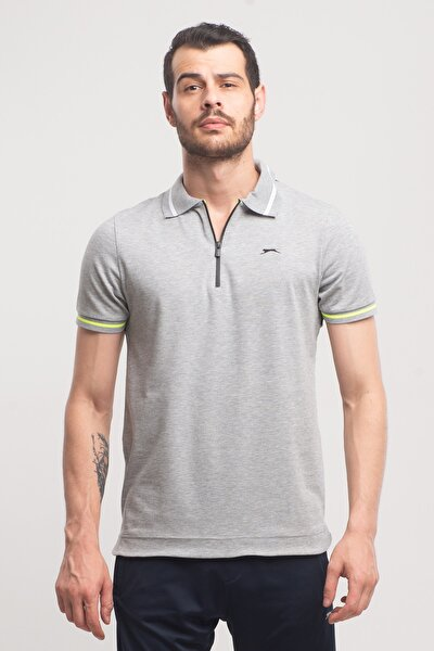 PRESENT Gri Erkek T-Shirt 100573735