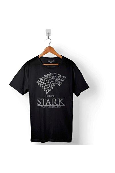 Game Of Thrones House Stark Wınter Is Comıng Erkek Tişört