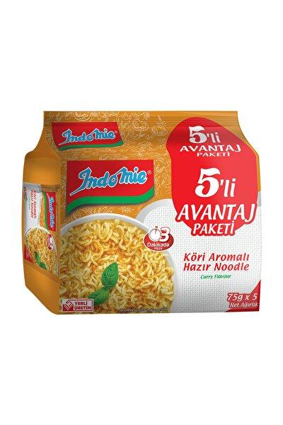 Indomie Köri Aromalı Hazır Noodle 5'li