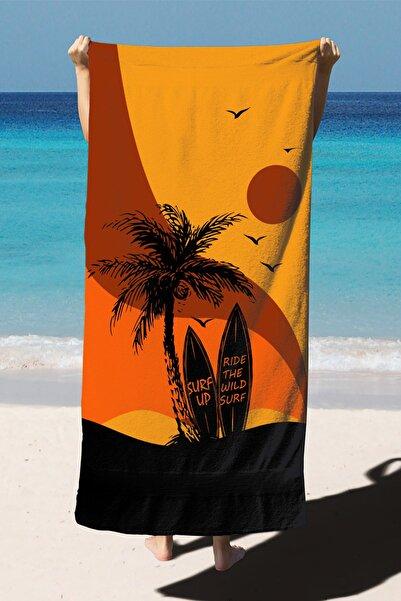 Home Plaj Havlusu Dijital Baskılı 75x150 cm PH2010
