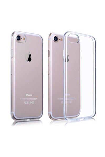Iphone 7 / Iphone 8 Uyumlu 3mm Şeffaf Silikon Arka Kapak Kılıf