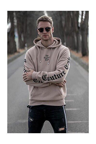 Erkek Camel Sweatshirt - 2877