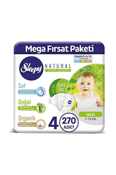 Natural Bebek Bezi 4 Numara Maxi 270 Adet