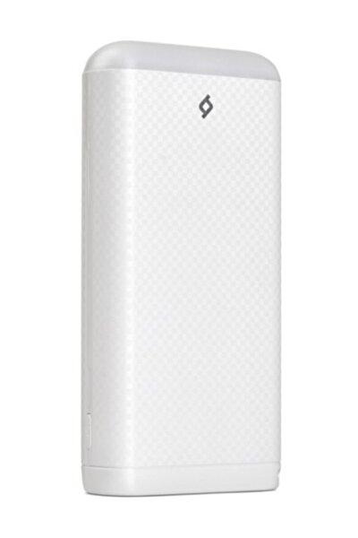 S S20000 20.000 mAh Powerbank Taşınabilir Şarj Aleti Beyaz