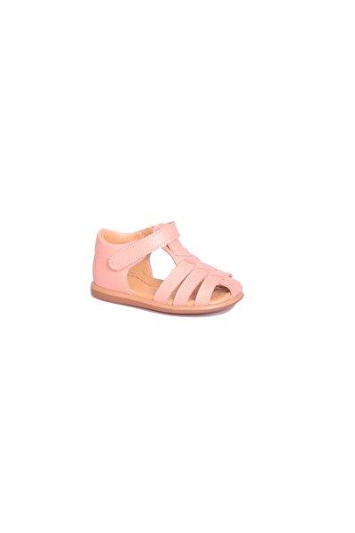 Deri Kız Çocuk Sandalet B101 Pembe