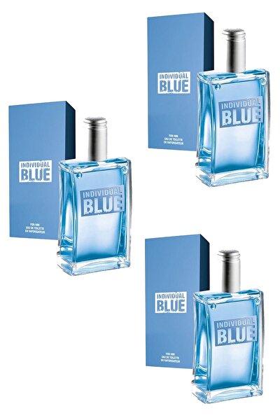 Individual Blue 100 Ml Edt Erkek Parfüm 3 Adet