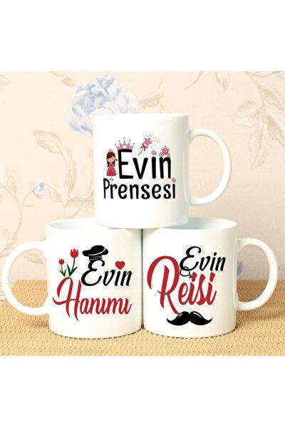 Evin Hanımı Evin Reisi Evin Prensesi 3lü Kupa