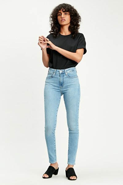 Levis Bayan Jean Pantolon 721 High Rise Skinny 18882-0332