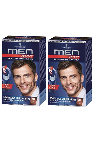 Perfect Men 70 Koyu Kahve Saç Boyası X 2 Adet