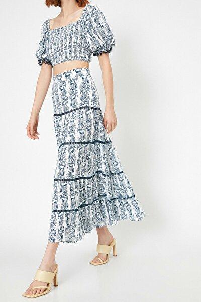 Skirtly Yours Styled By Melis Agazat - Desenli Etek