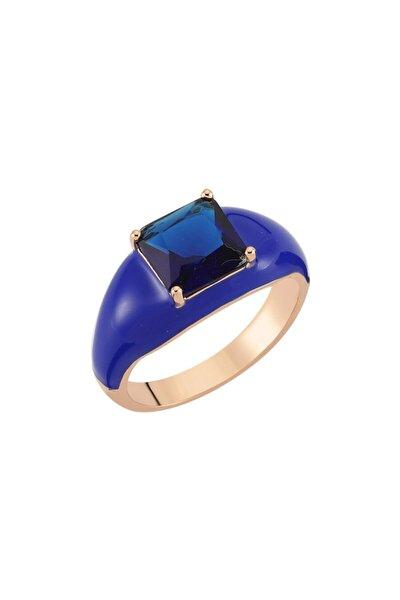 H. Dark Blue Yüzük 925