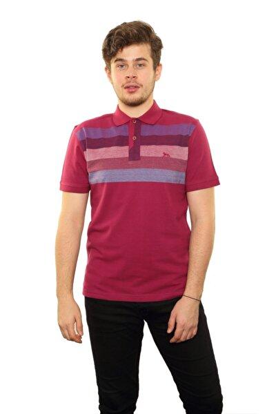Erkek Kırmızı Polo Yaka T-shirt