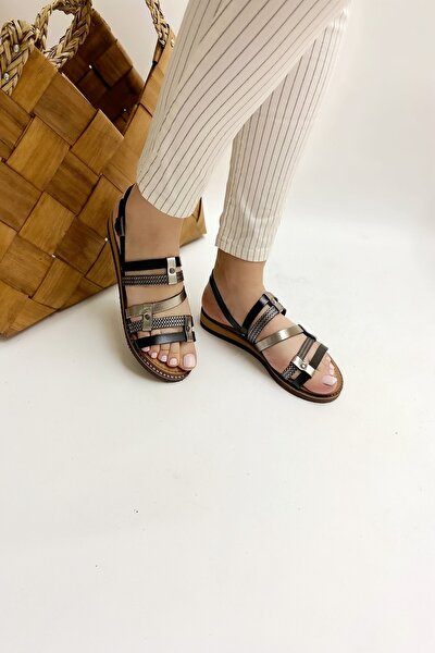 Kadın Hakiki Deri Sandalet