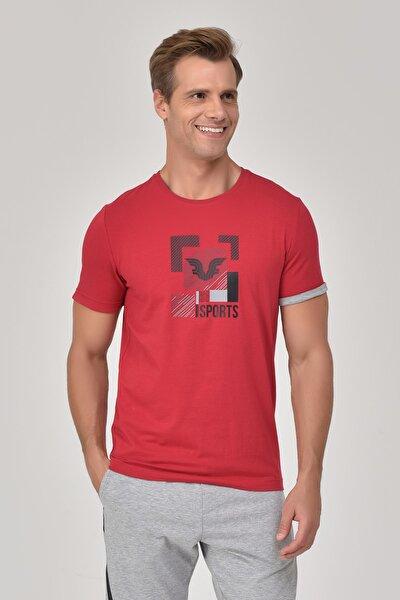 Kırmızı Erkek T-Shirt GS-8807