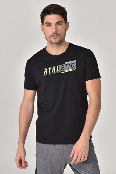 Siyah Erkek T-shirt  GS-8812