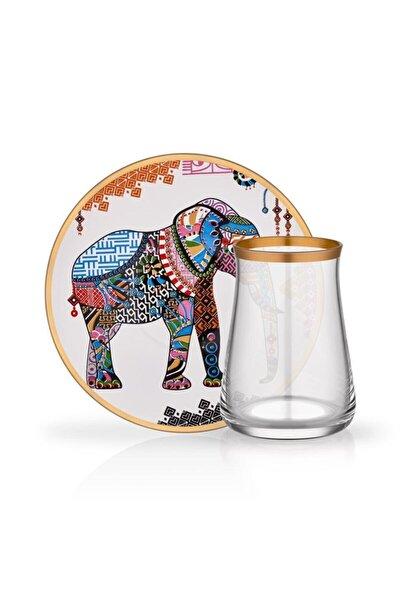 Tarabya Elephant 6'lı Çay Seti