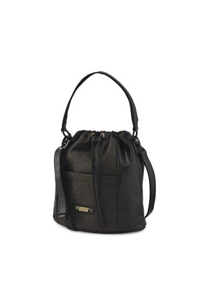 Prime Premium Bucket Kadın Siyah Omuz Ve El Çantası 07740701