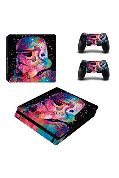 Star Wars Playstation 4 Slim Kasa Sticker Kaplama-05
