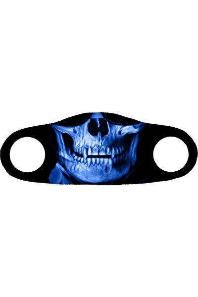 Moda Maske Röntgen Baskı No 1 Yıkanabilir Yetişkin Yüz Maskesi