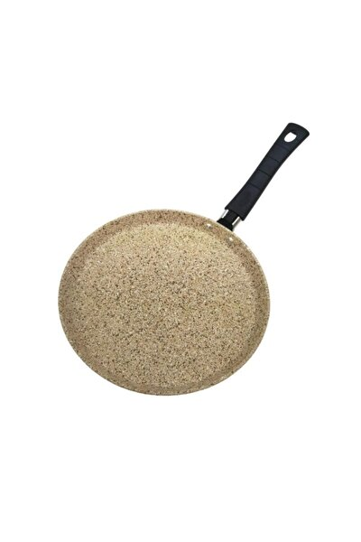 Granit Döküm Krep Tava Yumurta Tava Yanmaz Yapışmaz 24cm