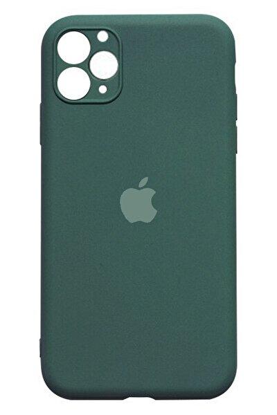 Apple Iphone 11 Pro Max Lansman Kılıf - Çam Yeşili