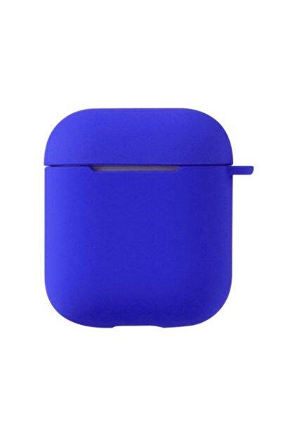 Apple Airpods Kılıf Airbag 11 Silikon Mavi