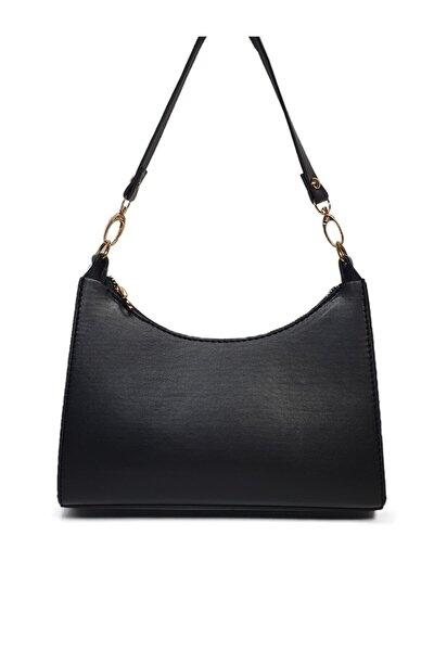 Siyah Baget Baguette Zincirli Askılı El Ve Çantası Gc009000