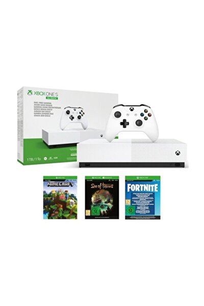 Xbox One S 1Tb All Digital 3 Oyun + 1 Kol