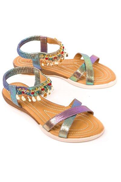 Yeni Sezon, Halhal Model, Kadın Sandalet