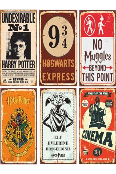 Harry Potter Poster Seti 6 Poster Birden