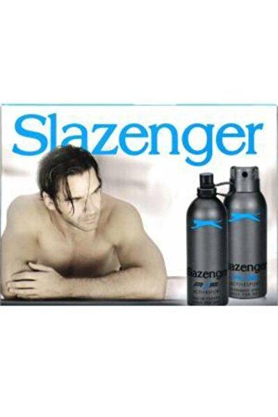 Orıjınal Parfüm Edt 125ml + 150ml Erkek Deodorant Mavi Kofre Set