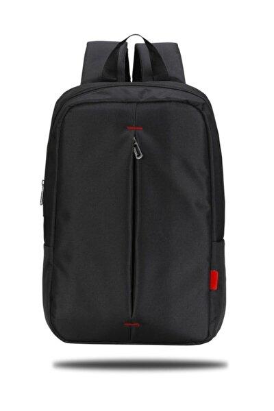 PR-R160 Roma Serisi 15,6 inç Uyumlu Laptop, Notebook Sırt Çantası – Siyah